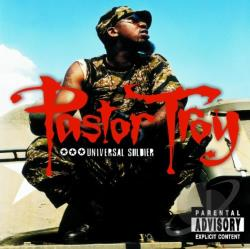 Troy, Pastor - Universal Soldier CD Cover Art