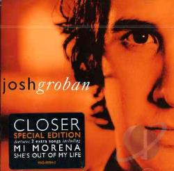 Groban, Josh - Closer CD Cover Art