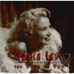 Lewis, Monica - Song Is You CD Cover Art