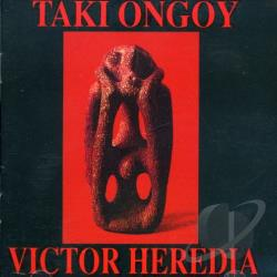 Heredia, Victor - Taki Ongoy CD Cover Art