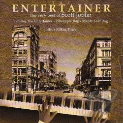 Rifkin, Joshua - Entertainer: Very Best Of Scott Joplin CD Cover Art