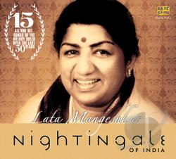 Mangeshkar, Lata - Nightingale of India CD Cover Art