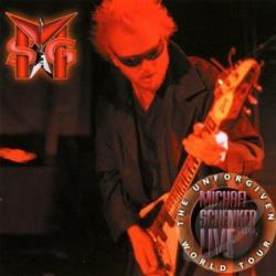 Michael Schenker Group - Unforgiven World Tour Live CD Cover Art