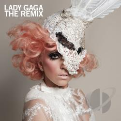 Lady Gaga - Remix CD Cover Art