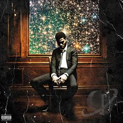 Kid Cudi - Man on the Moon II: The Legend of Mr. Rager CD Cover Art