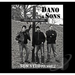 Dano & Sons - Sun Studio: Jails & Graveyards 2 CD Cover Art