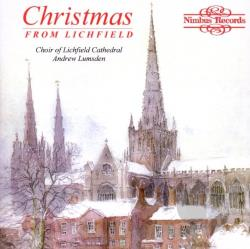 Choir Of Lichfield Cathedral - Christmas from Lichfield CD Cover Art