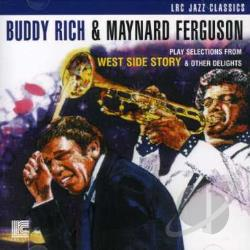 Ferguson, Maynard / Rich, Buddy - Play Selections from West Side Story & Other Delights CD Cover Art