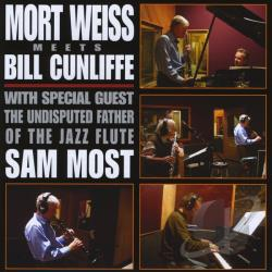 Cunliffe, Bill / Weiss, Mort - Mort Weiss Meets Bill Cunliffe CD Cover Art