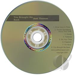 Just Thomas - You Brought Me Back CD Cover Art