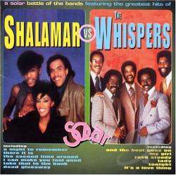 Shalamar / Whispers - Shalamar vs. The Whispers CD Cover Art