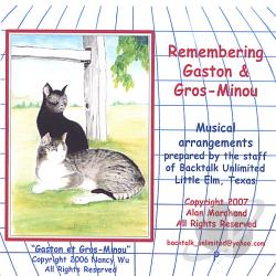 Marchand, Alan - Remembering Gaston & Gros-Minou CD Cover Art