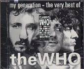 Who - My Generation: The Very Best Of The Who CD Cover Art