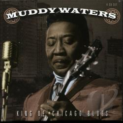 Waters, Muddy - King of Chicago Blues CD Cover Art