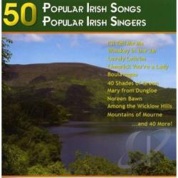 50 Popular Irish Songs CD Cover Art