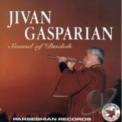 Gasparian, Jivan - Sound Of Duduk CD Cover Art