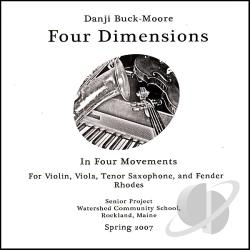 Danji Buck-Moore - Four Dimensions CD Cover Art