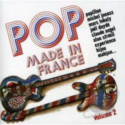 Pop Made in France: The Best of French Groups of the Seventies CD Cover Art