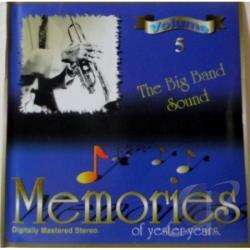 Memories Of Yester-Years - Big Band Sound CD Cover Art