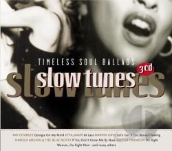 Slow Tunes: Timeless Soul Ballads CD Cover Art