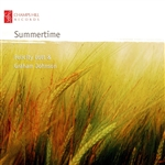 Barber / Elgar / Faure / Gershwin / Johnson / Lott - Summertime CD Cover Art