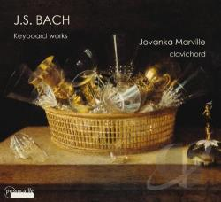 Bach, Johann Sebastian / Marville - Bach: Keyboard Works CD Cover Art