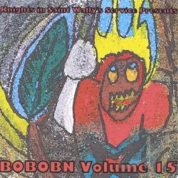 Knights In Saint Wallys Service Presents: Bobobn V CD Cover Art