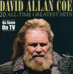 Coe, David Allan - 20 All Time Greatest Hits CD Cover Art