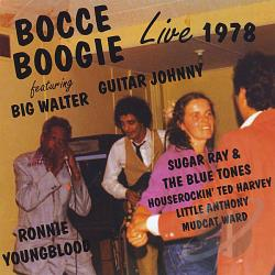 Horton, Big Walter - Bocce Boogie: Live 1978 CD Cover Art