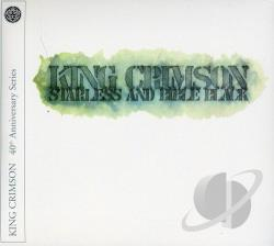 King Crimson - Starless and Bible Black CD Cover Art