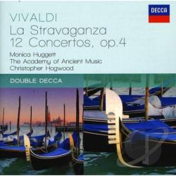 Academy Of Ancient / Hogwood / Huggett / Vivaldi - Vivaldi: La Stravaganza - 12 Concertos, Op. 4 CD Cover Art