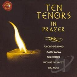 Ten Tenors in Prayer CD Cover Art