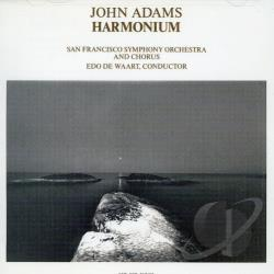 Adams, John - Adams: Harmonium CD Cover Art