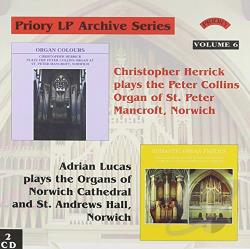 Priory LP Archive Series 6 CD Cover Art