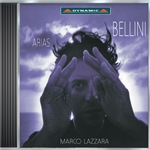 Lazzara, Marco - Bellini: Arias DB Cover Art