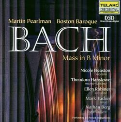 Bach / Berg / Boston Baroque / Pearlman - Bach: Mass in B minor CD Cover Art
