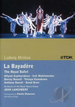 Minks - Minkus - La Bayadere DVD Cover Art