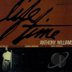 Williams, Tony - Life Time CD Cover Art