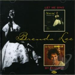 Lee, Brenda - Let Me Sing/By Request CD Cover Art