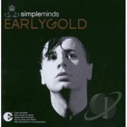 Simple Minds - Early Gold CD Cover Art