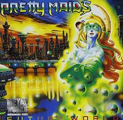 Pretty Maids - Future World CD Cover Art