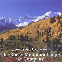 Rocky Mountain Banjos & Company - Live From Colorado CD Cover Art