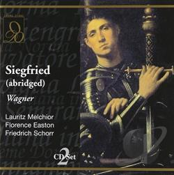 Easton / Melchior / Schorr - Wagner: Siegfried (abridged) CD Cover Art