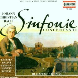 Sinfonie Concertanti CD Cover Art