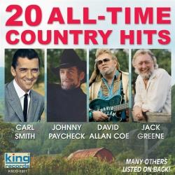 20 All Time Country Hits CD Cover Art