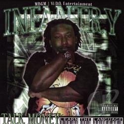 Infantry of United Soldiers Affiliation - Talk Money (Learn tha Language) CD Cover Art