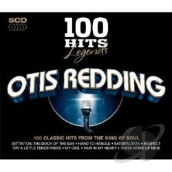 Redding, Otis - 100 Hits Legends CD Cover Art