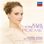 Fischer, Julia - Poeme CD Cover Art