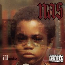 Nas - Illmatic CD Cover Art