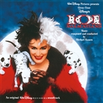 Disney Soundtrack - 101 Dalmatians Live Music Album CD Cover Art